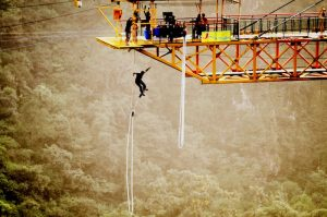 The highest bungee jumping platform in India