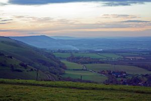 Sunrise at Devil's Dyke, South Downs Walks