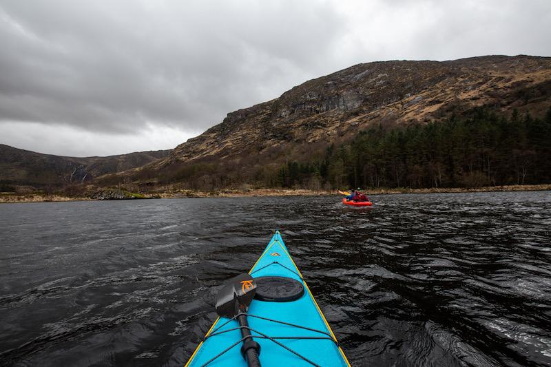 Going kayaking in ireland