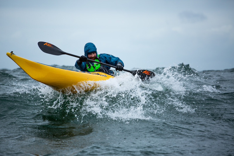 An incredible kayaking adventure in Ireland