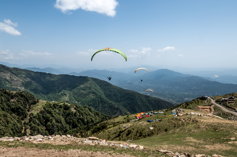 Paragliding in Bir Billing, one of the best things to do in India