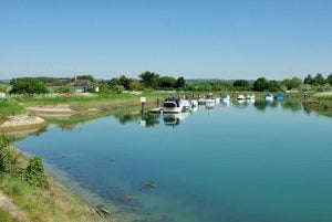 The River Arun walk from arundel South Downs National park