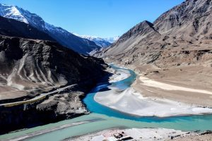 A view on the Markha valley trek in India