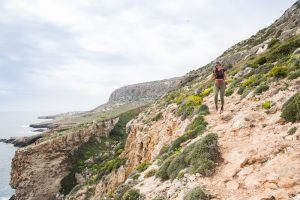 The windswept coastlines of Malta makes the perfect place for some hiking