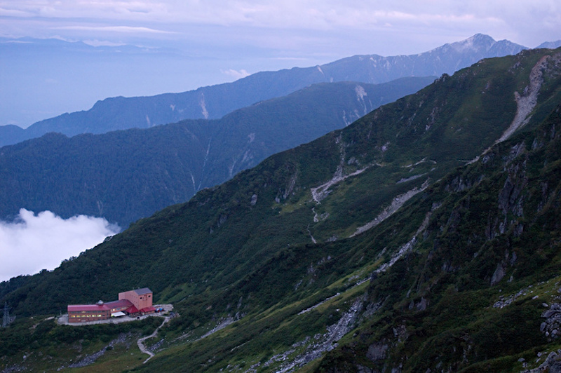 A mountain hut in Japans Chuo Alps, one of the best places to go hiking in Japan