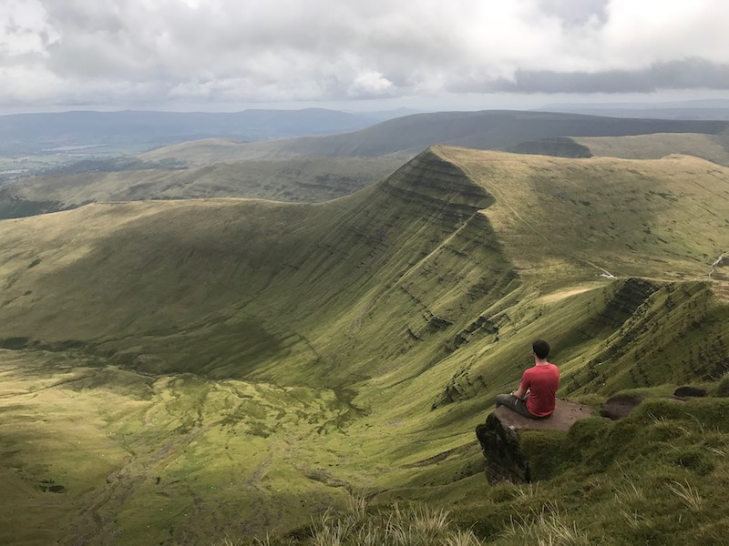 Pen y Fan, wales, UK adventure road trip