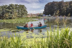 Canoeing at Countryfile Live