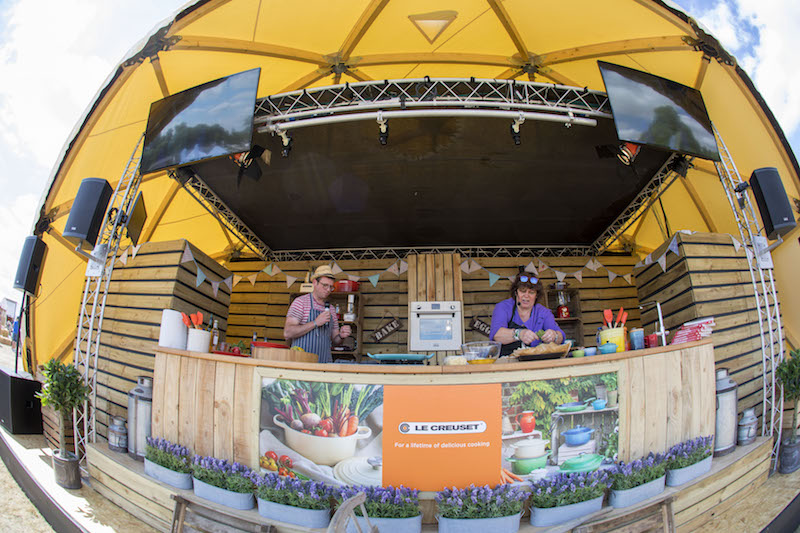 Food show at Countryfile Live