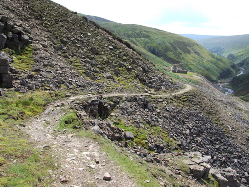 Gunnerside Gill in the Yorkshire Dales, one of the most epic mountain bike routes in the UK