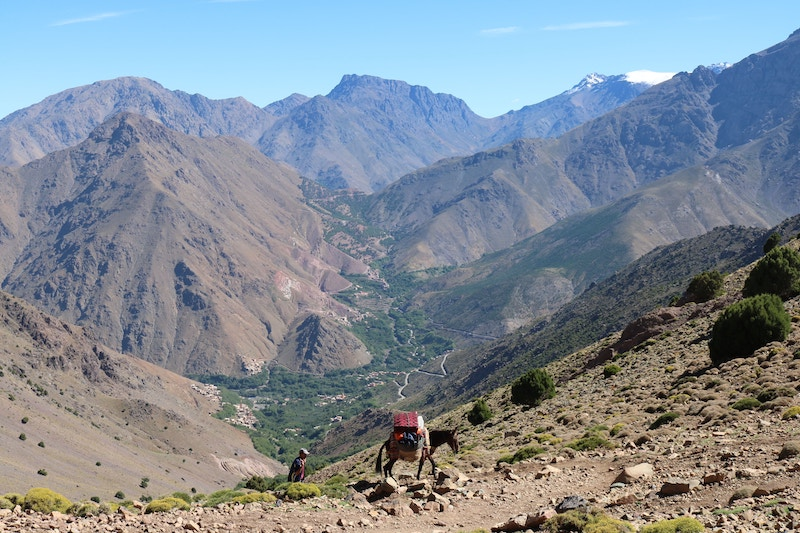 High Atlas Mountains of Morocco
