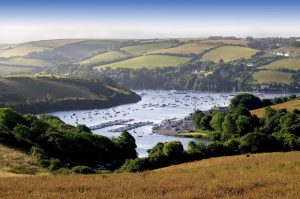 A view of Salcombe on the Ultimate UK adventure road trip