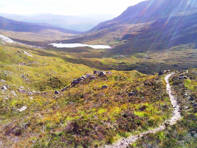 Torridon, Scotland, one of the most epic mountain bike routes in the UK