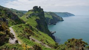 valley of rocks on the UK adventure road trip