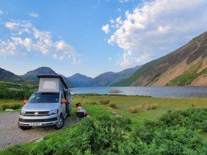 campervan parked