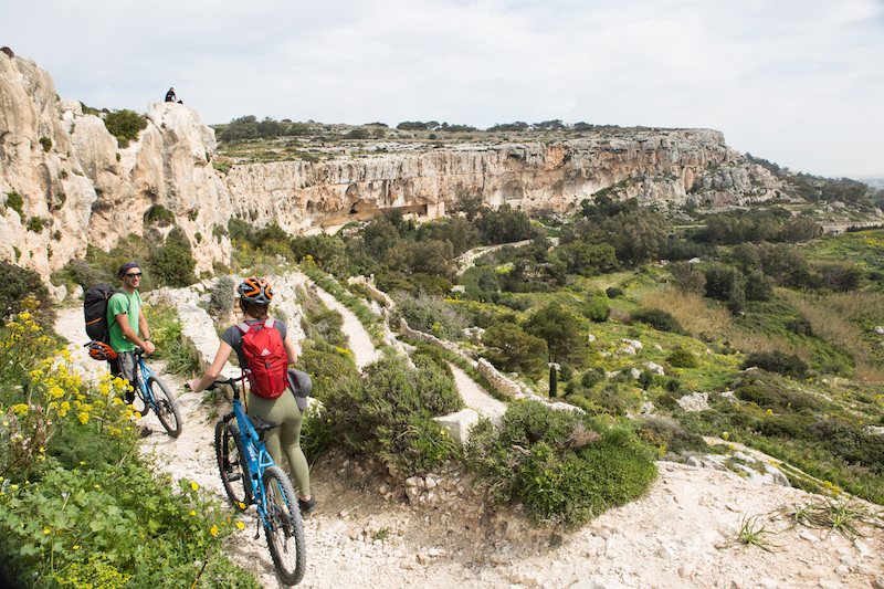mountain biking malta