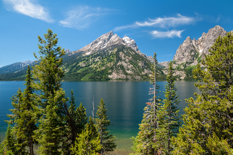 Lake Louise in the Grand Teton National Park, Wyoming.