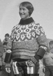 Isobel Wylie Hutchison in Greenland - Royal Scottish Geographical Soceity