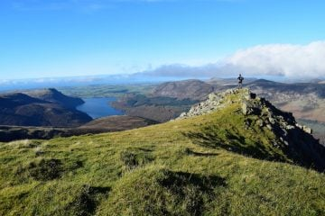 climbing Pillar and Steeple in the Lake District