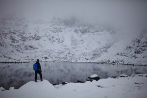 Exploring the Glyders on the great british adventure road trip