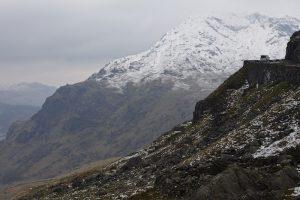 campervan mountain pass