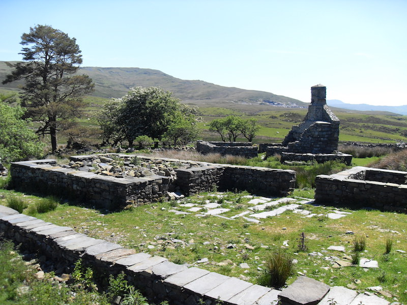 Tomen y Mur roman burial site, snowdonia