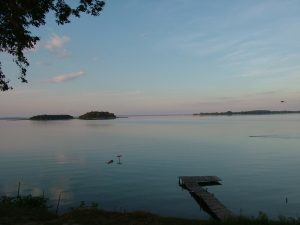 Lake Sniardwy at dusk, best things to do in Poland