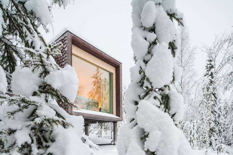 Arctic treehouse in Finland - unique places to stay in europe