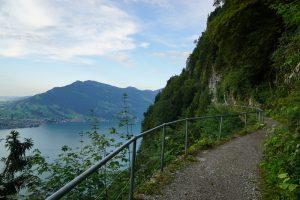 burgenstock felsenweg hikes in Switzerland