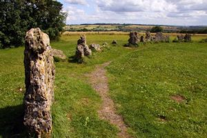 The Rollwright stones route in the Cotswolds