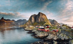 Cabins in Lofoten, Norway, one of the most unique places to stay in Europe