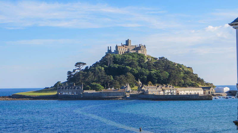A view of St. Michael's Mount, Cornwall