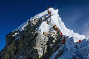 The Hillary Step on Everest