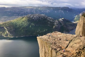 pulpit's rock, Norway