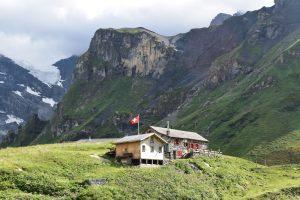 Rotstockhütte on the Via Alpina