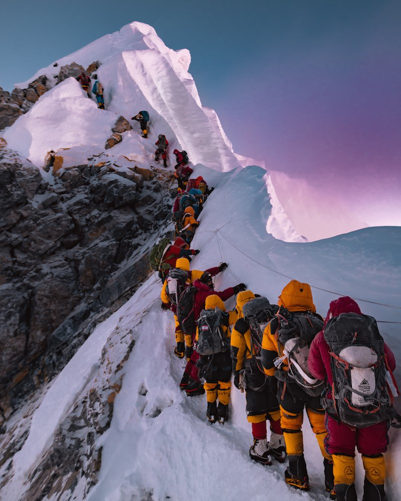 Hillary Step on Everest