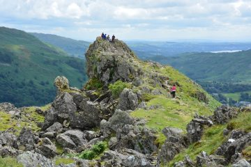 Uk adventure lake district's distinctive peak