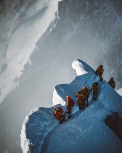 High on Mount Everest
