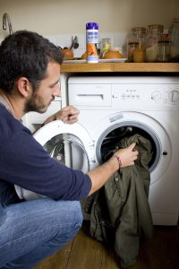 You should only wash your waterproof garments with technical detergents