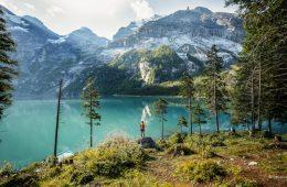 Switzerland Summer: Kandersteg, Oeschinensee