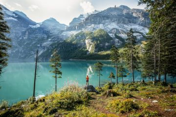 Switzerland Summer: Kandersteg, Oeschinensee