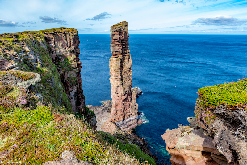 The Old man of Hoy sea stack orkney islands