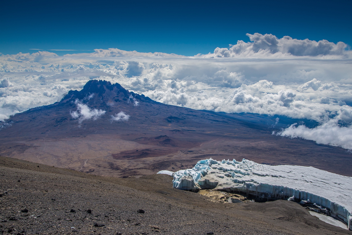 Mt. Mawenzi view from Kilimanjaro Mountain, best tours to go on in 2020