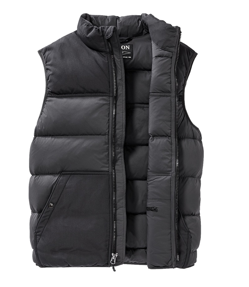down gilet filson christmas gift guide