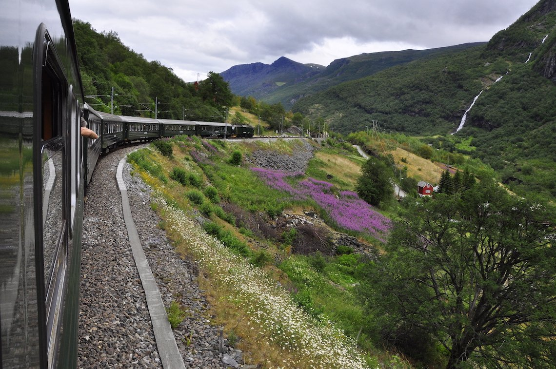 Flam Railway, Norway, Scenic train journeys