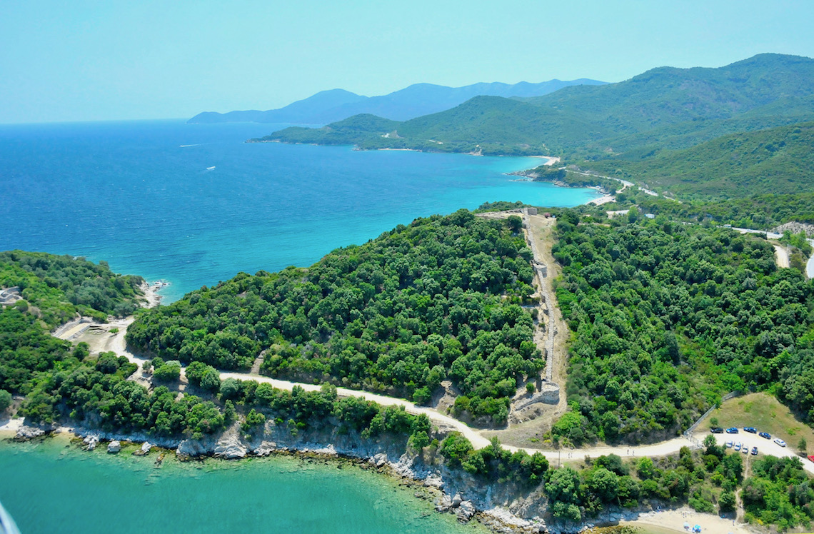 Aristotle Trail in Halkidiki