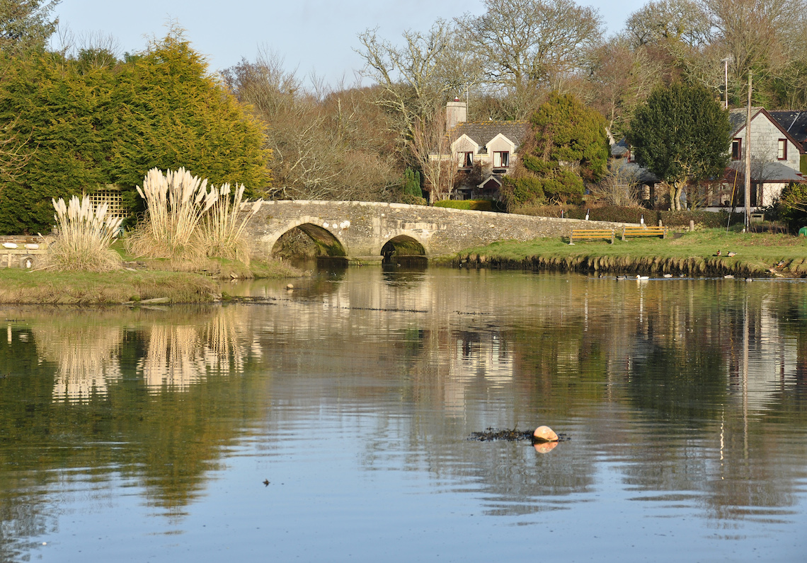 Bridge at Lerryn, best circular walks in Cornwall