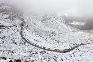 Bealach na ba in scotland on the great british adventure road trip