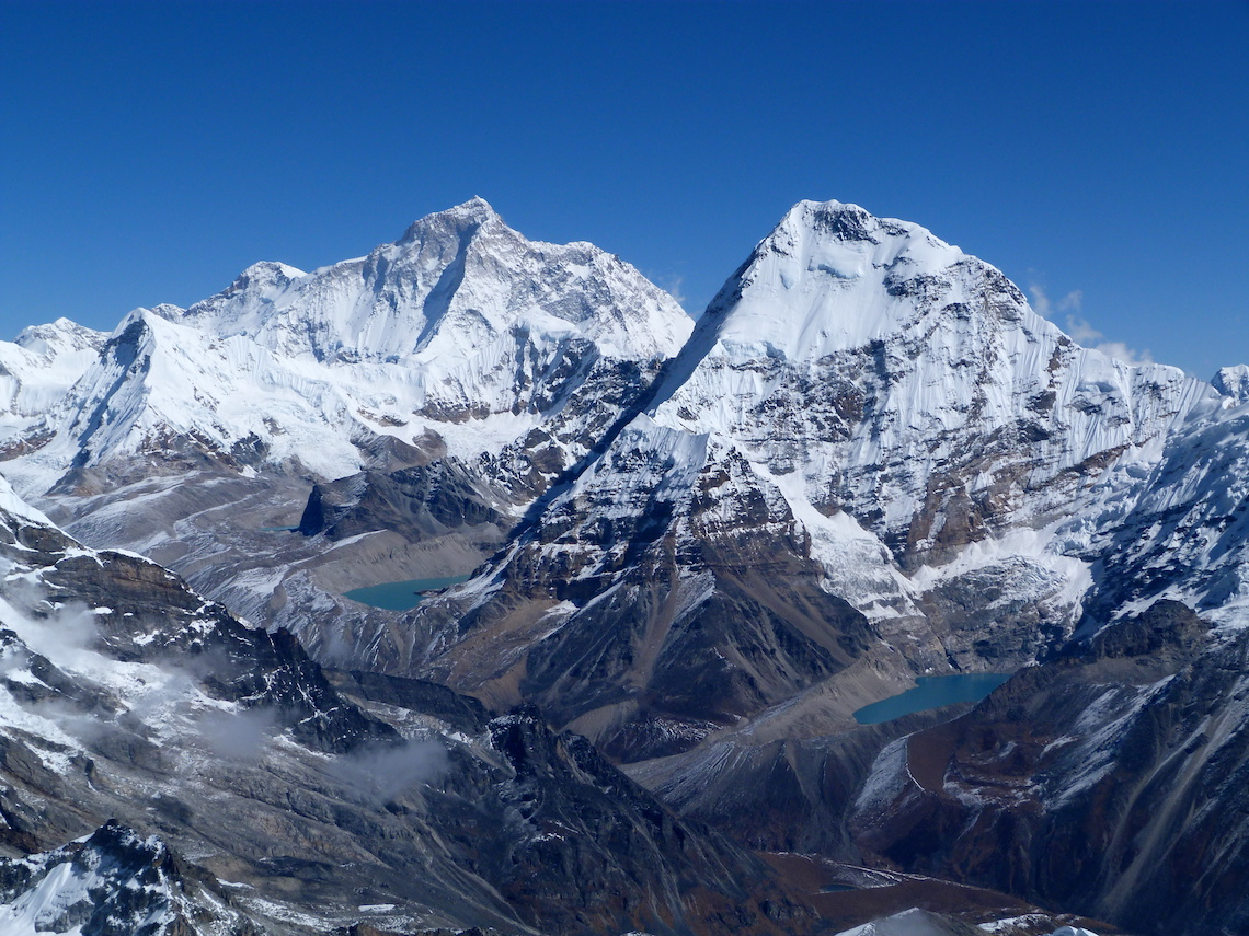 Mount Makalu, iconic Himalayan treks