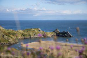 Three Cliffs Bay on the Gower Coast Path