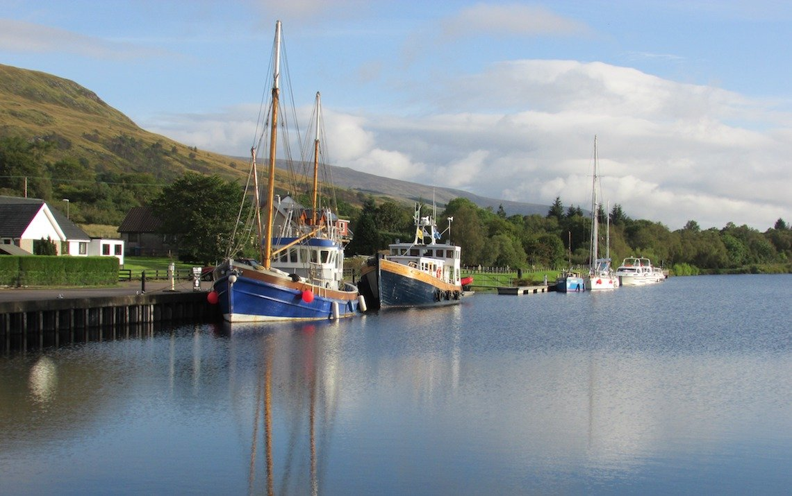Caledonian Canal great glen canoe trail